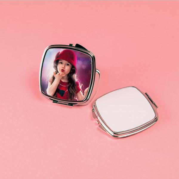 Зеркальце макияжное (квадратное)