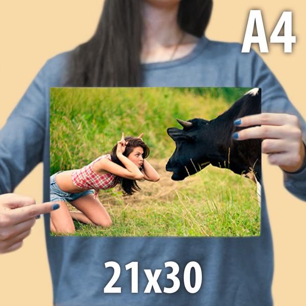 Печать фотографий 21 на 30 см