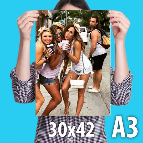 Печать фотографий 30 на 42 см