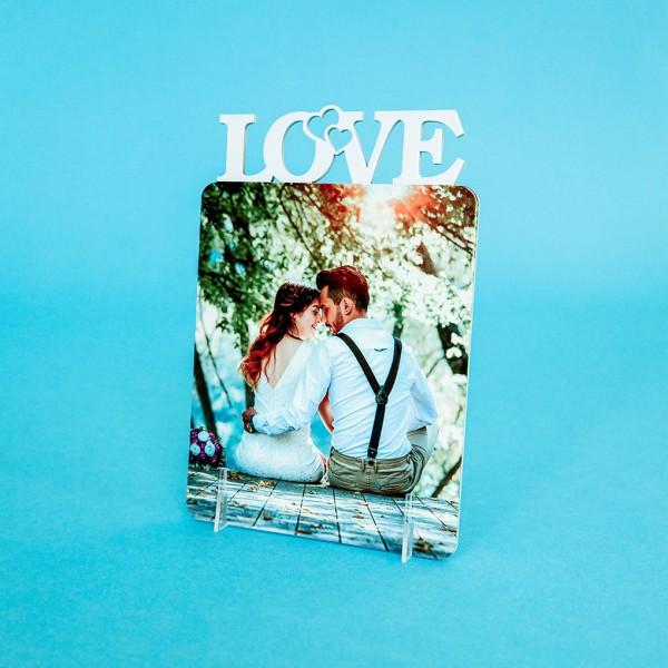 Фоторамка из дерева (Love)