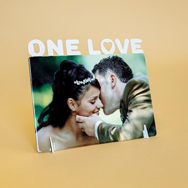 Фоторамка металл (One love)
